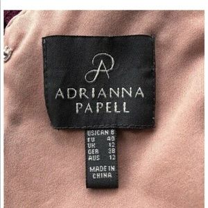 Adrianna Papell Dresses - Adrianna Papell Burgundy Cocktail Dress